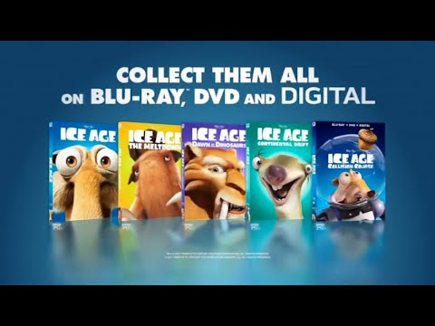 Ice Age On Blu-ray And DVD - Collect Them All | Opening To Ferdinand On DVD.
