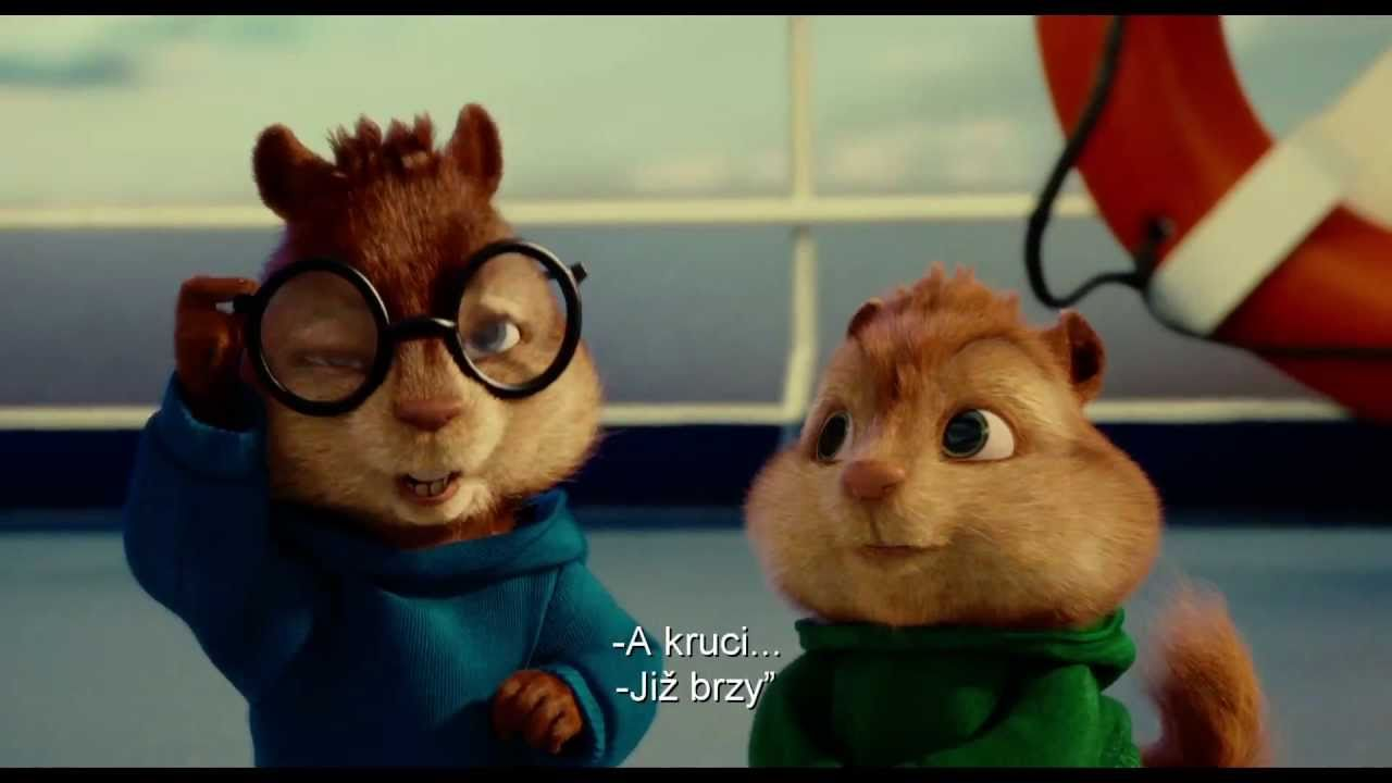 Alvin a Chipmunkové 3 (Alvin and the Chipmunks 3) - český trailer 1