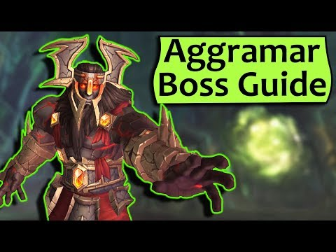 Aggramar Guide - Heroic/Normal Antorus Burning Throne Raid Strategy