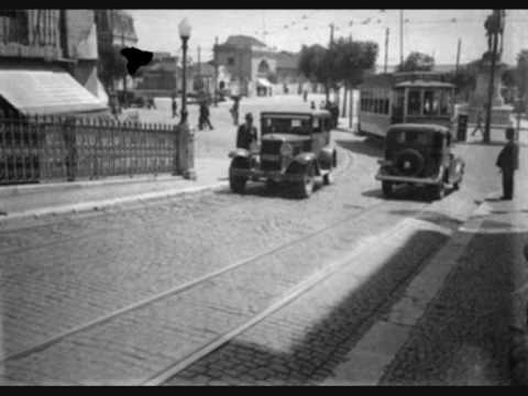 Old Lisbon. Lisboa antiga.  Antique Lisbon