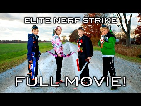 Elite Nerf Strike - Full Movie!