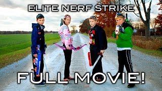 Elite Nerf Strike - Full Movie!(All five parts of the Elite Nerf Strike in one video. Elite Nerf Strike 2 is Here!: https://www.youtube.com/watch?v=mZYN5p0btOE Thanks for watching! Aaron ..., 2016-02-18T19:00:02.000Z)