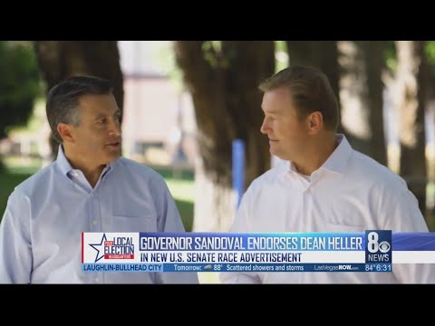 Endorsement from Brian Sandoval could be game changer in 2018 race