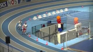 NR 4x200m NK Indoor Jongens A met Michael Hooper (telt niet) 1:31.98, record AAV 36 telt wel