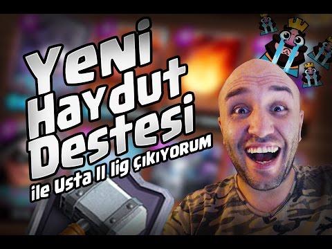 HAYDUT DESTESİ USTA 2 LİGE JOURNEY CLASH ROYALE
