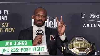 UFC 235 Post Fight Press Conference: Jon Jones