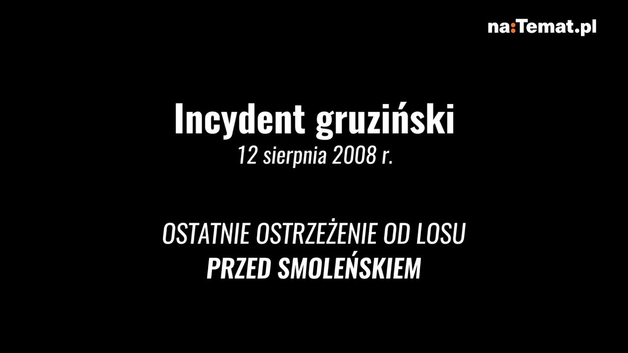 Ostatnie ostrzeżenie od losu dla prezydenta Lecha Kaczyńskiego
