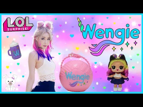 WENGIE 🌈🦄 LOL Surprise Custom Doll (SugarBunnyHops Custom Doll #7)