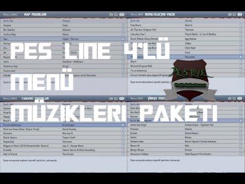 Pes 2015  4'lü Menü Müzikleri Paketi + Kurulum