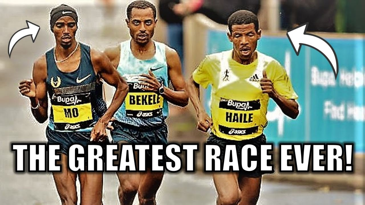 The GREATEST ROAD RACE OF ALL TIME! || Kenenisa Bekele's EPIC Win VS. Mo Farah & Haile Gebrselassie
