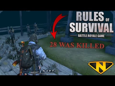 Record Kills in Rules of Survival! 2-27-18 (Rules of Survival: Battle Royale)