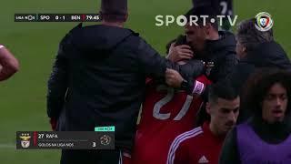 Goal   Golo Rafa: Sporting 0-(1) Benfica (Liga 19/20 #17)