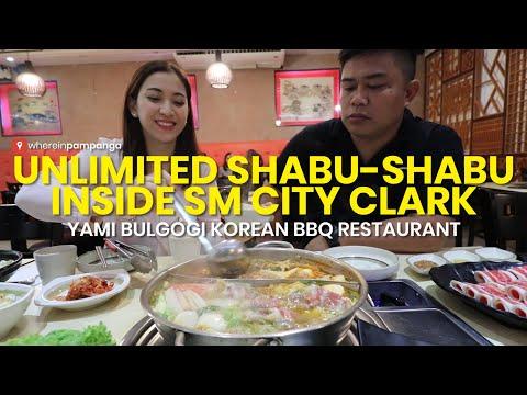 Unlimited Shabu-shabu inside SM City Clark