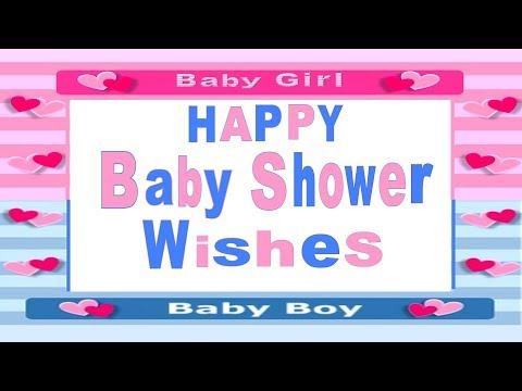 Happy Baby Shower Wishes