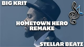 Big K.R.I.T. Hometown Hero Official Instrumental [Prod. By Stellar Beatz]
