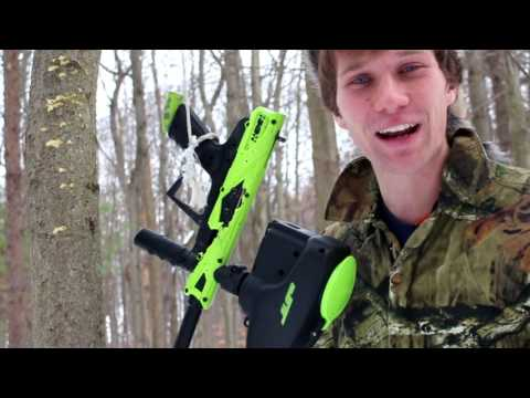 JT E-Icon Torture Test: Paintball Destruction