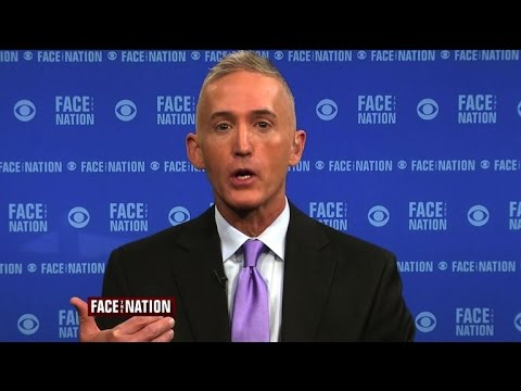 Full interview: Trey Gowdy, October 18