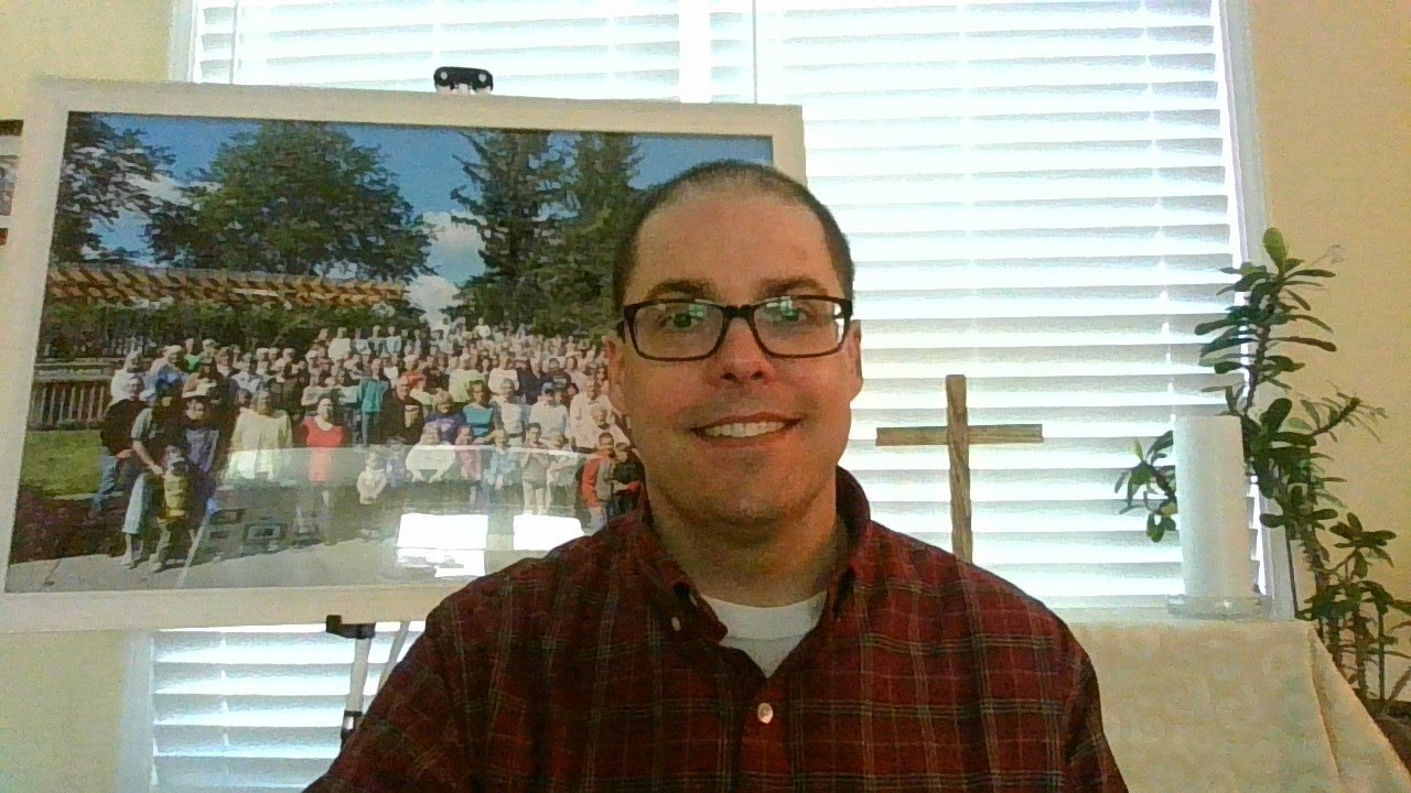 Pastor's Video Blog - 5/13/20