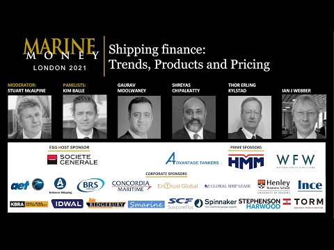 Shipping Finance Trends, Products and Pricing