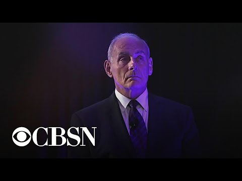 "Former White House chief of staff John Kelly says he warned Trump about hiring a ""yes man"""