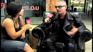 Daniel Ash (Love & Rockets) Interview for MishMashTV