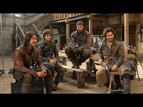 The Musketeers discuss their training  The Musketeers  BBC One