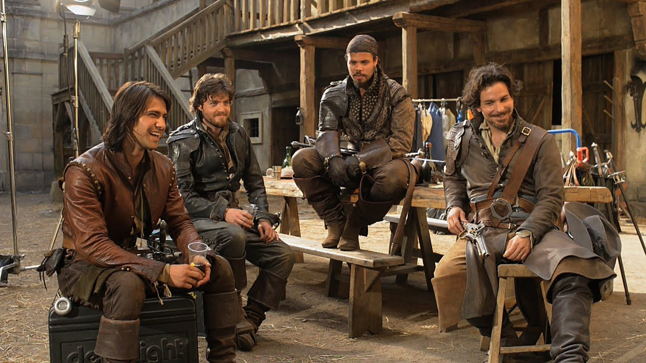 Imagini pentru The Musketeers tv series