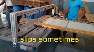 Amazing string wrapping system for vitrified tiles