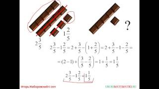 МАТ5Сложение и вычитание смешанных чисел