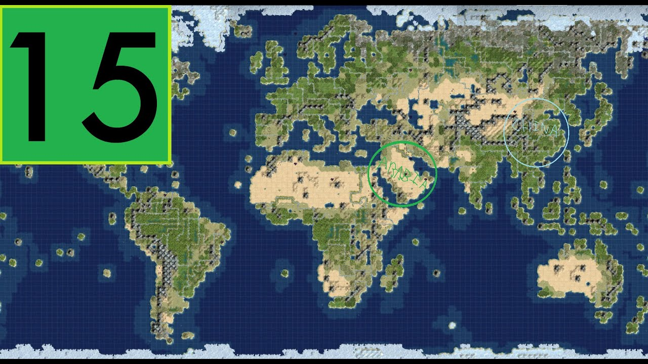 Civ 4 Earth Map.Civilization 4 Rhye S And Fall Of Civilization 15 More Earth