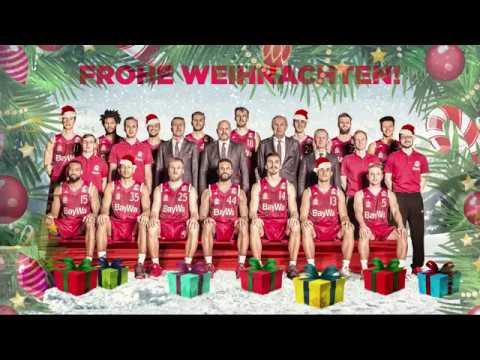 Fc Bayern Wünscht Frohe Weihnachten.Frohe Weihnachten Wünscht Der Fc Bayern Basketball
