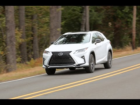 2016 Lexus RX 350 - First Drive Review