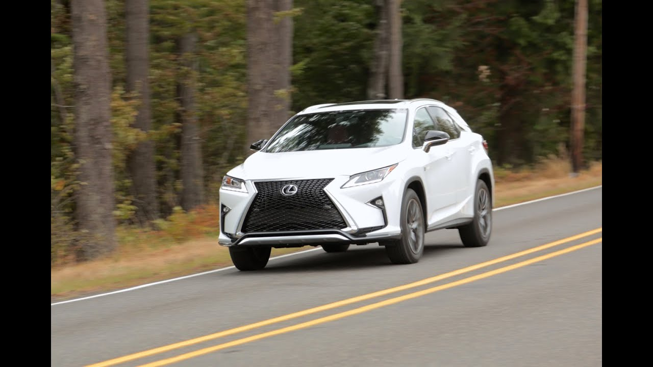 2016 Lexus Rx 350 First Drive Review