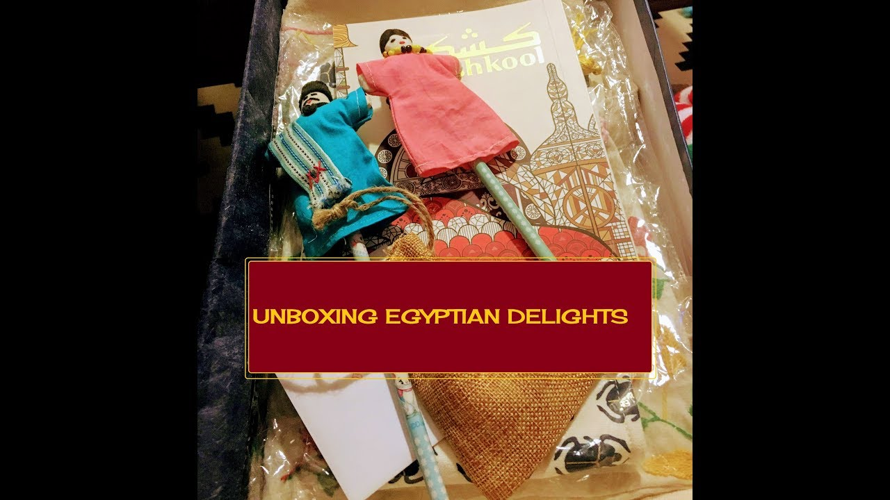 Unboxing A Gift Box Full of Egyptian Delights