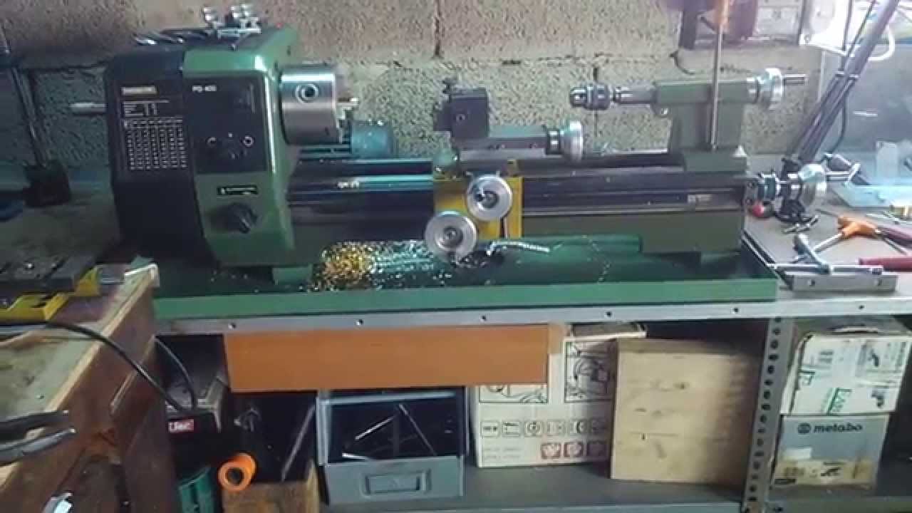 Pd400 youtube for Tornio proxxon pd 400