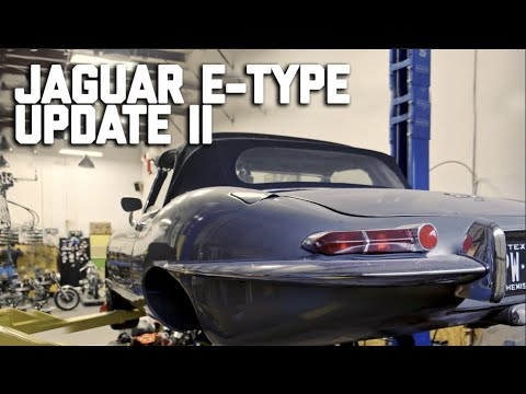 Jaguar E -Type Rusty Brake Calipers // Revival Daily 92