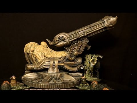 Neca Alien Foam Space Jockey Diorama 7 inch scale Action Figure Review & Comparison