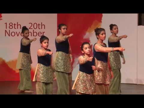 Dance Performance by LGS Students during Faiz Festival 2016