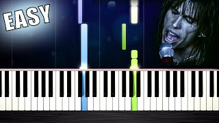 Aerosmith - I Don't Want to Miss a Thing - EASY Piano Tutorial by PlutaX