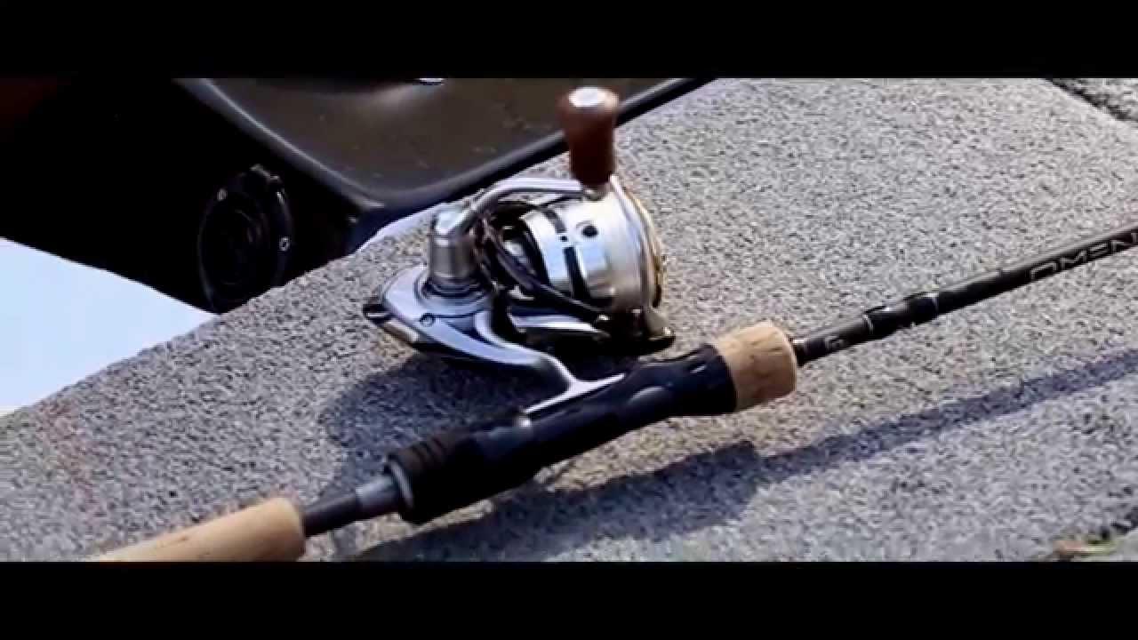 The new omen black 13 fishing youtube for 13 fishing omen