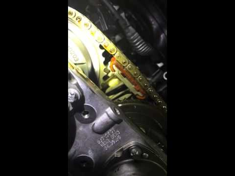 Mercedes Benz C class timing chain failure W203