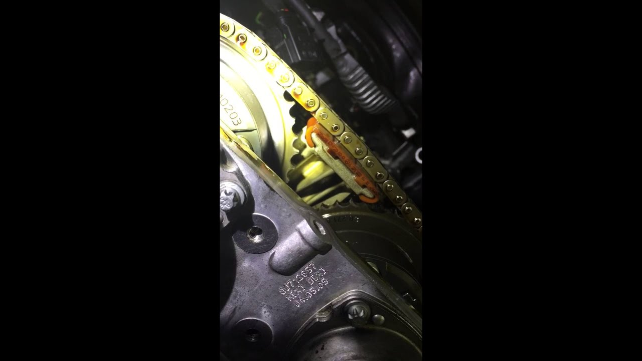 Mercedes Benz C class timing chain failure W203