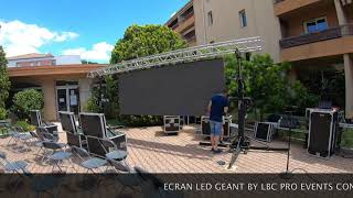 LOCATION ECRAN LED GEANT BY LBC PRO EVENTS