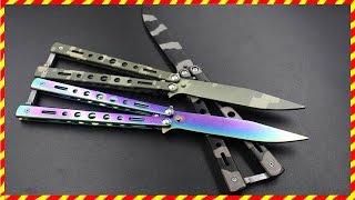 Нож бабочка из Китая с AliExpress Балисонг Balisong Butterfly Knife
