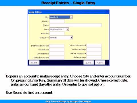 Daily Finance Software