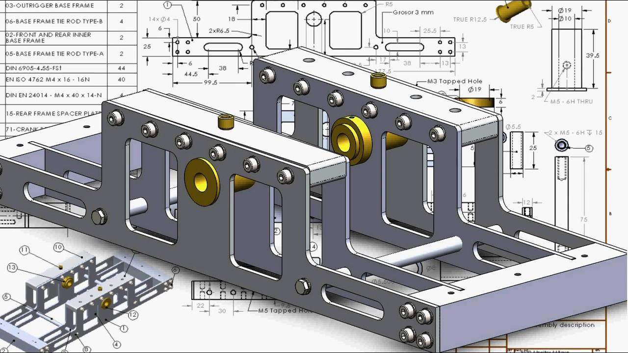 uss monitor e120 parte 1 con solidworks