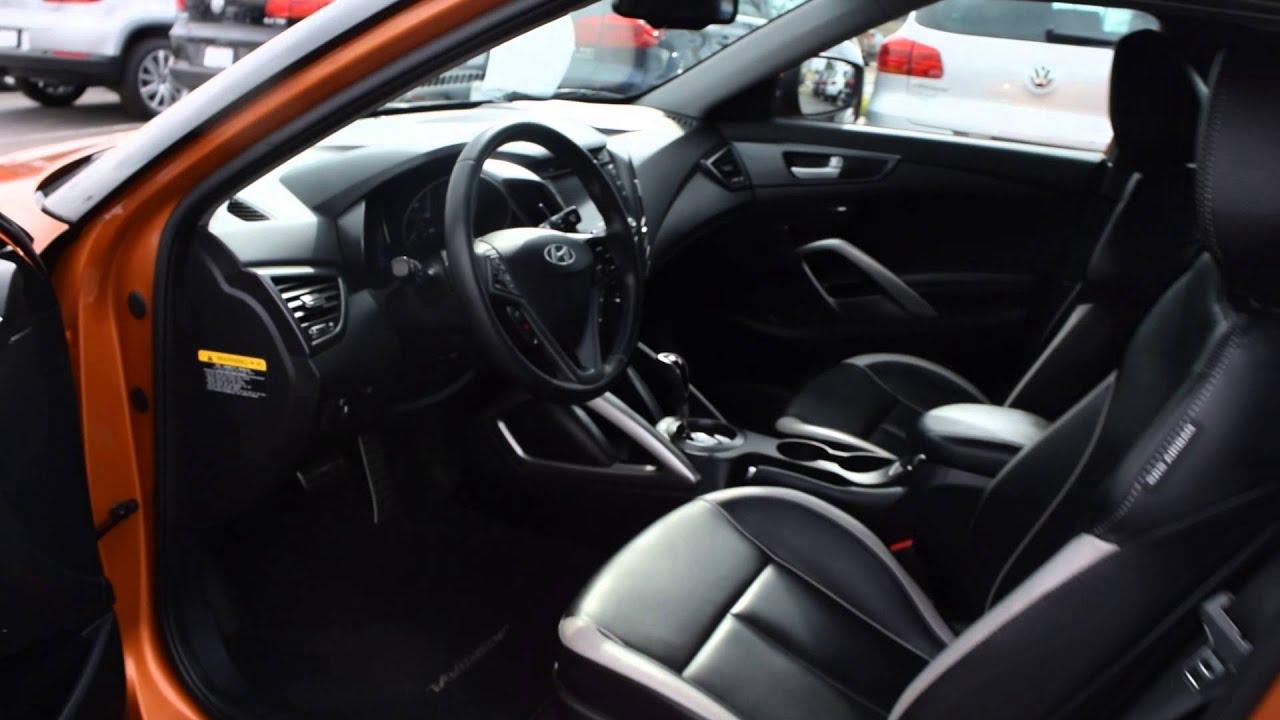 2013 Hyundai Veloster Turbo LHM VW Lakewood PV6160B
