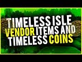 Insane Timeless Coin Sha Crystals And More Make Gold Vendoring Items WoW Gold Guide
