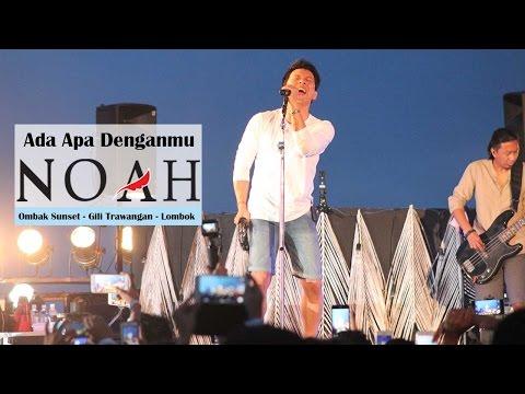 'Sunset Concert' NOAH - Ada Apa Denganmu | Ombak Sunset - Gili Trawangan - Lombok