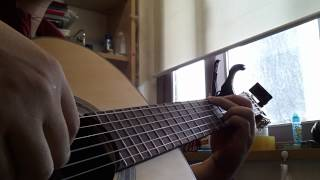 Song from a stormy night guitar solo
